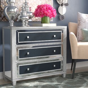 Claudine 3 Drawer Accent Chest