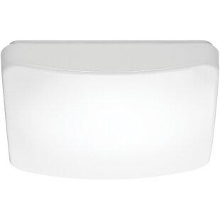 Dahle LED Outdoor Flush Mount by Ebern Designs