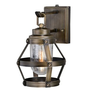Longshore Tides Articombe 1-Light Outdoor Wall Lantern