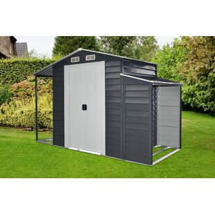 10 Ft. 4 In. W X 5 Ft. D Metal Storage Shed By Hanover