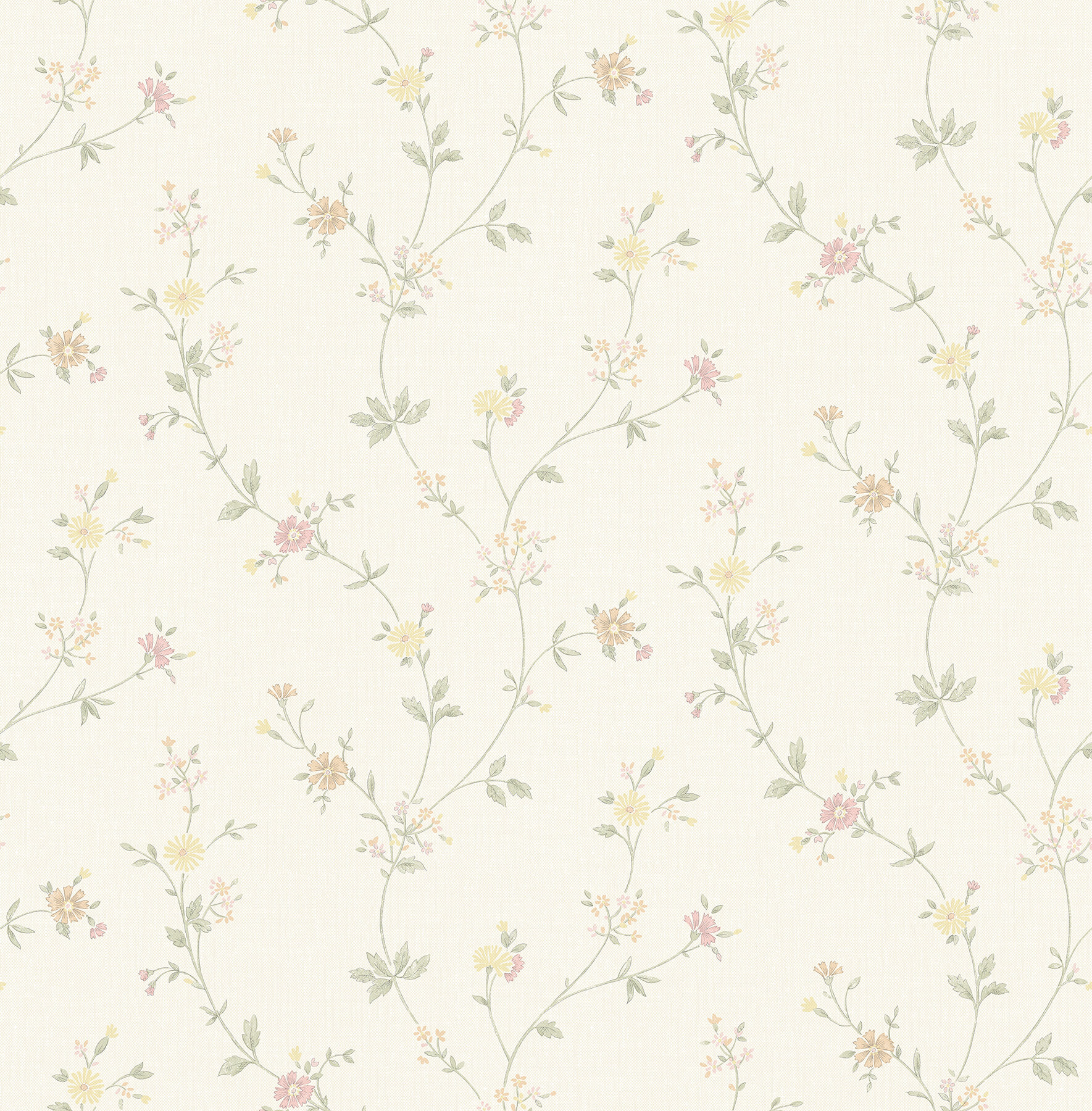 August Grove Samuelsson Floral Trail 33 L X 20 5 W Wallpaper