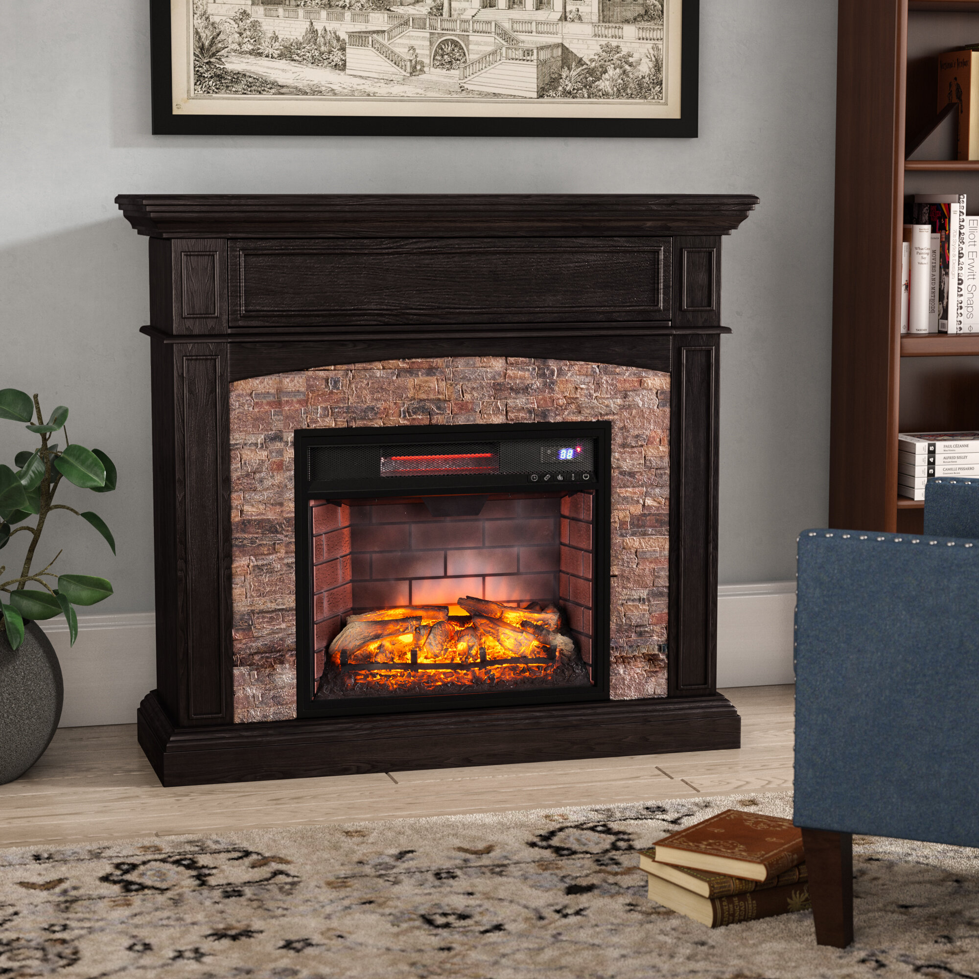 top fireplace each house for yields ideas value plug homes photos in percent increase home