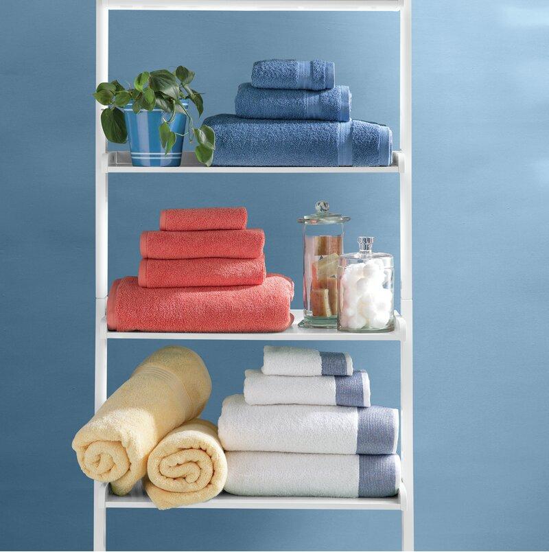 Birch Lane Claudine 6 Piece Turkish Cotton Towel Set Reviews Wayfair
