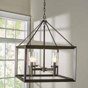 Coxsackie 4-Light Hanging Foyer Pendant