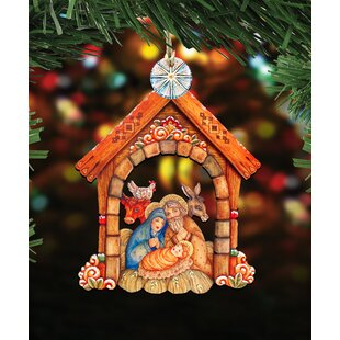 keepsake village nativity decor figurine