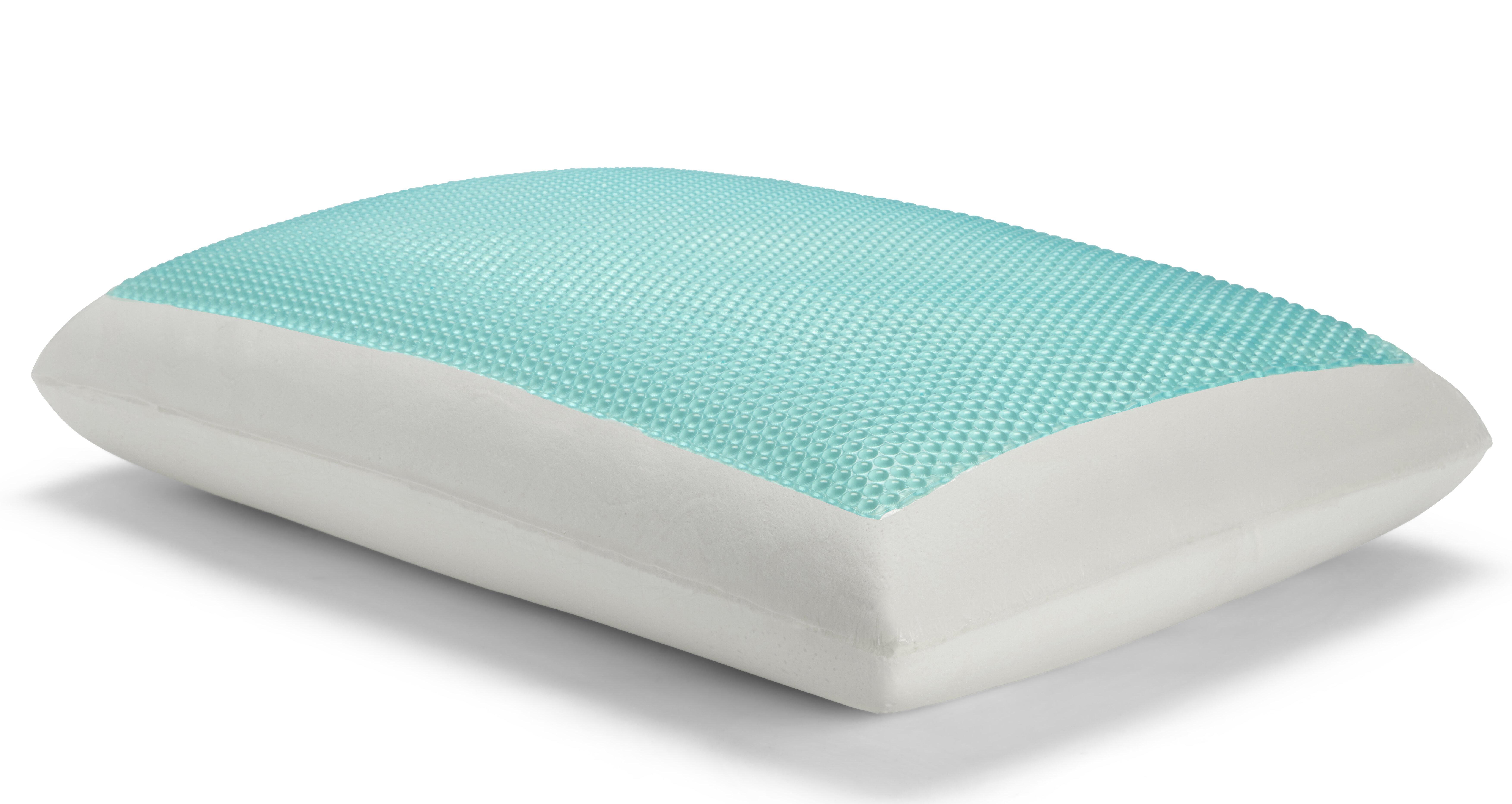 Sealy Gel Memory Foam Medium Cooling Support Bed Pillow Reviews Wayfair