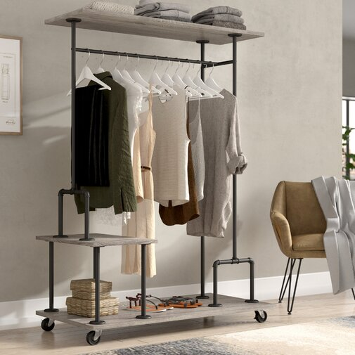 Nicola 47.25 in. W Clothes Rack