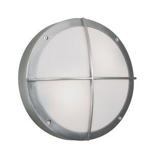 Latitude Run Hamish 1-Light Outdoor Bulkhead Light