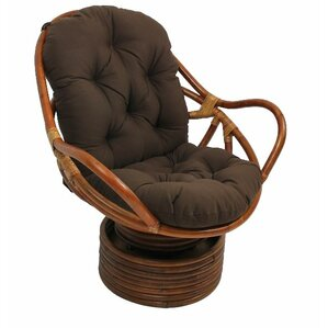 Beachcrest Home Jimena Papasan Chair