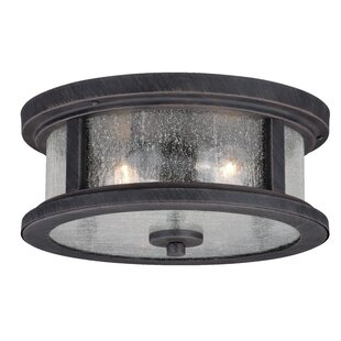 Outdoor flush mounts modern contemporary designs allmodern colwyn 2 light outdoor flush mount workwithnaturefo