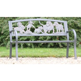Puppies Steel Bench By Gardeco