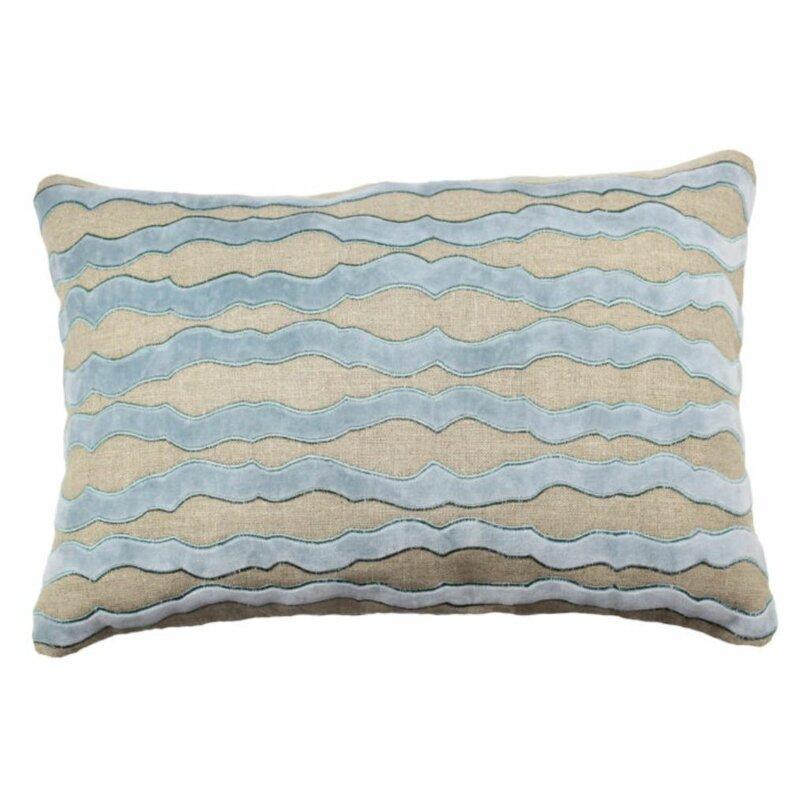 Tourmaline Abbey Filigree Rectangular Linen Pillow Cover Insert Perigold