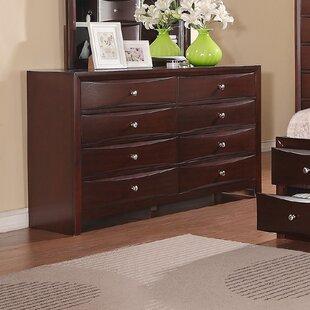 Ebern Designs Baxter 8 Drawer Double Dresser
