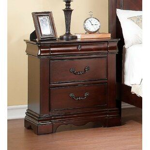 Manuel 3 Drawer Nightstand