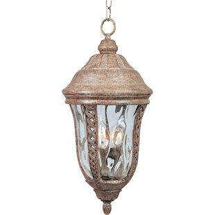 Fleur De Lis Living Wimberly 3-Light Outdoor Hanging Lantern
