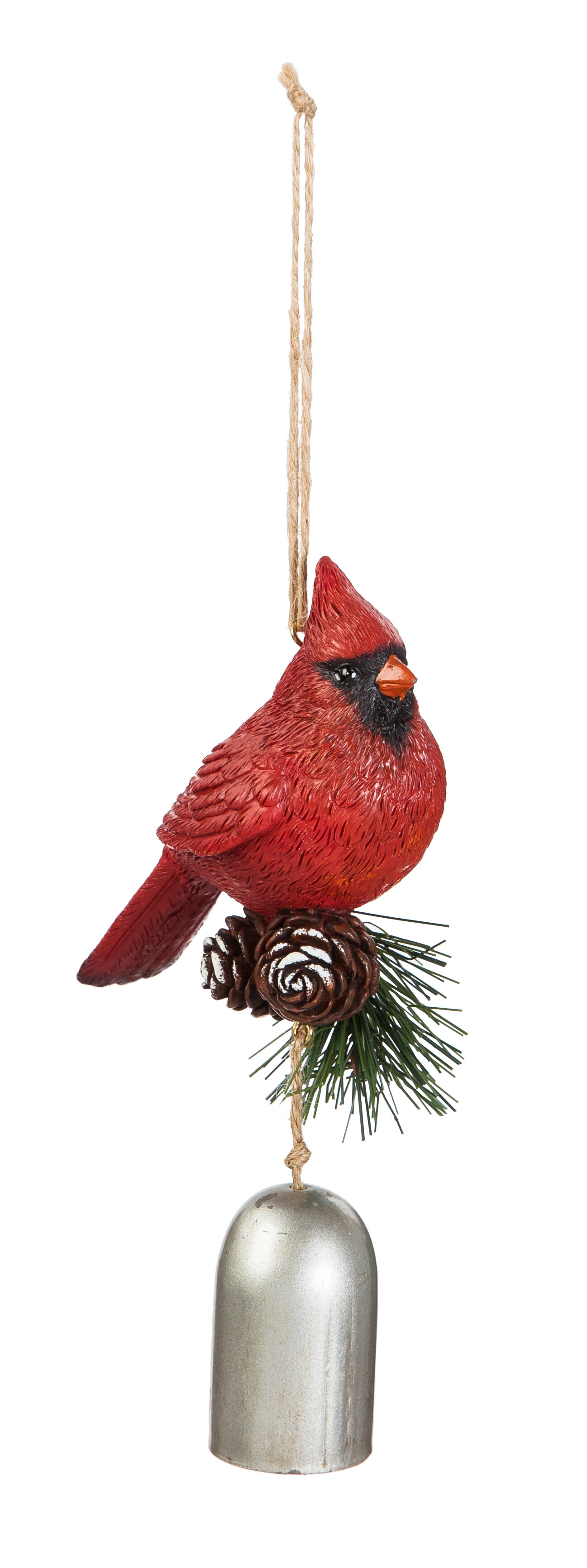 Alcott Hill Polystone Cardinal Hanging Figurine Ornament Reviews Wayfair