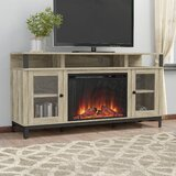 Mastrangelo TV Stand for TVs up to 65 with Fireplace Included by Gracie Oaks