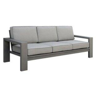 Northwich Patio Sofa with Cushions by Orren Ellis
