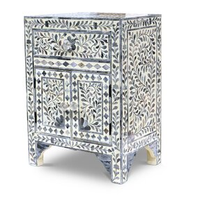 Greear 1 Drawer Accent Cabinet by Bungalow Rose