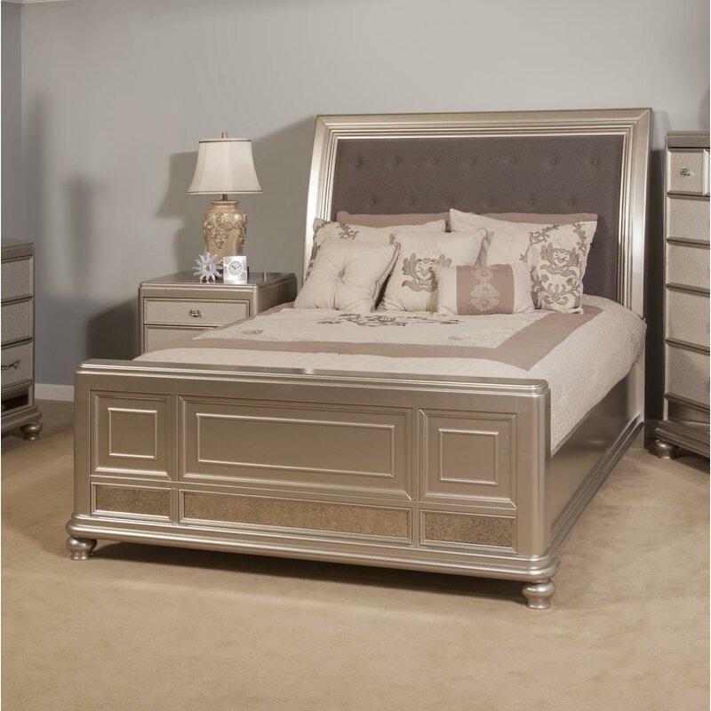 Elkin Sleigh Bed Size: King