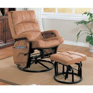 gettysburg 2 piece rocker glider u0026 ottoman - Gliding Rocking Chair