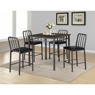 Destiney 5 Piece Pub Table Set 17 Stories