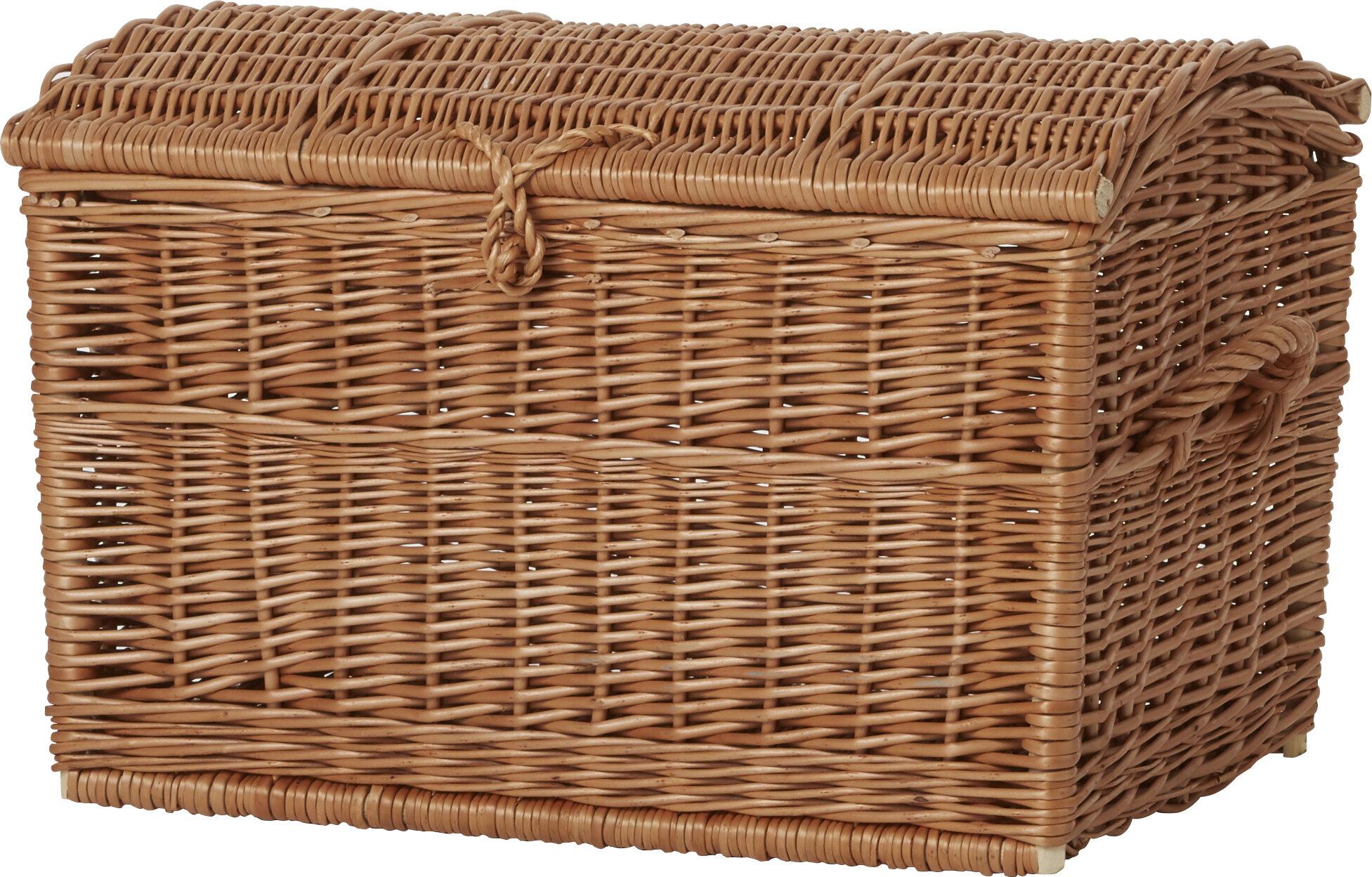 Breakwater Bay Wicker Blanket Basket Reviews Wayfair Co Uk