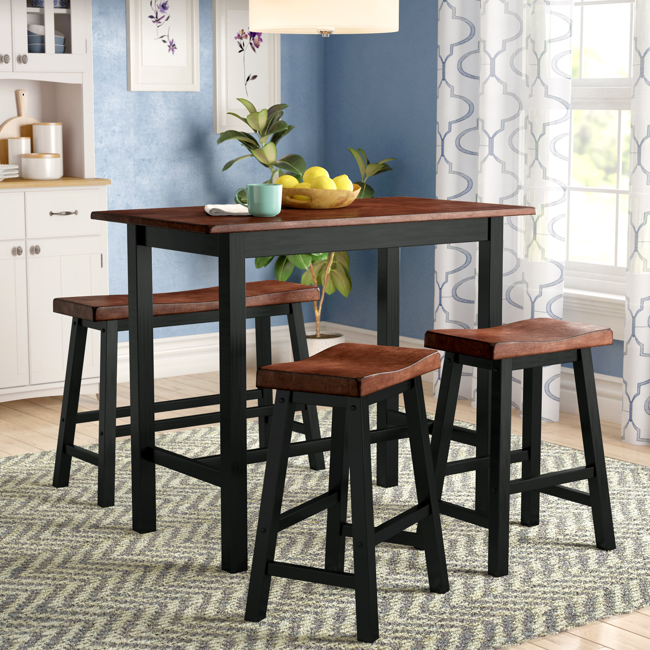 Winsted 4 Piece Counter Height Dining Set