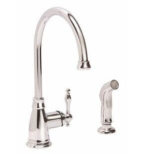 Premier Faucet Wellington™ Single Handle Kitchen Faucet with Side Spray