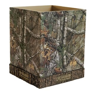 Realtree Bedding Plastic Waste Basket