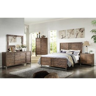 Inexpensive Kenworthy Queen Upholstered Panel Bed by World Menagerie Reviews (2019) & Buyer's Guide