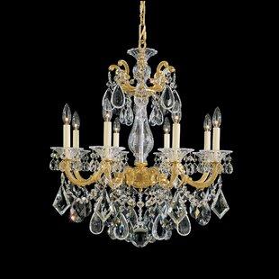 Schonbek La Scala 8-Light Chandelier