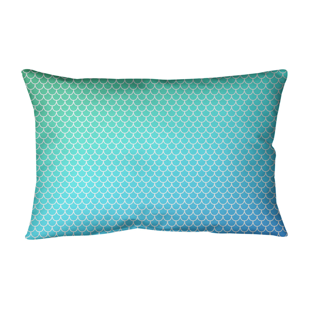 East Urban Home Mermaid Scales Rectangular Pillow Cover Wayfair Ca