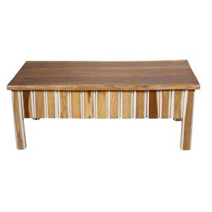 Teak Wood Coffee Table by Ibolili