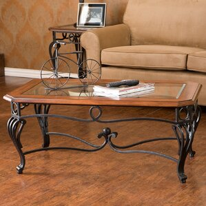 Jeannette Coffee Table by Fleur De Lis Living