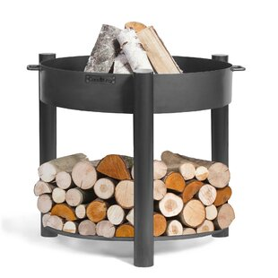 Sussman Steel Wood Burning Fire Pit By Sol 72 Outdoor