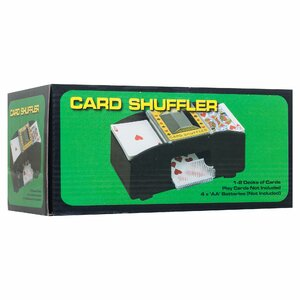 Texas Hold u2018Em Two Deck Playing Card Shuffler
