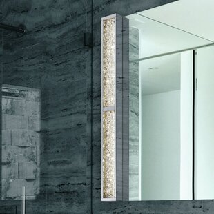 Sonneman Dazzle Slim 1 Light Bath Bar