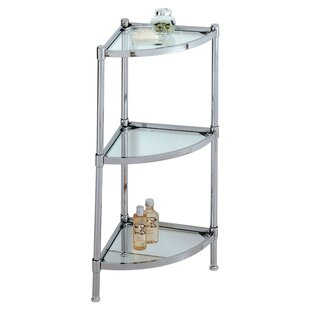 Read Reviews Eadie 13.25 W x 31 H Bathroom Shelf By Rebrilliant