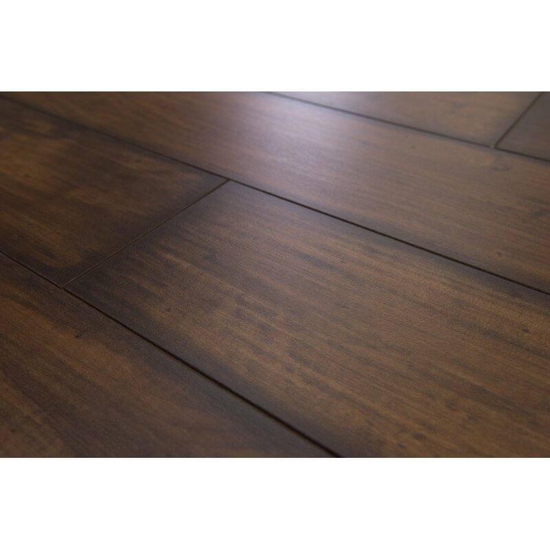 Branton Flooring Collection Geneva Prestige 6 X 48 X 12mm Maple