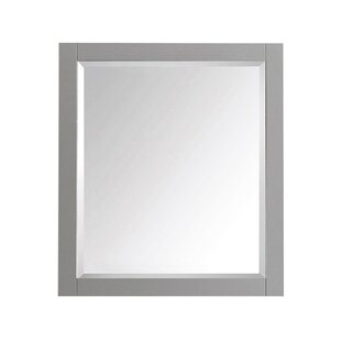 Top Reviews Wood Framed Wall Mirror ByLatitude Run