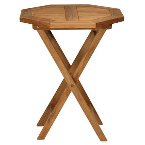 Elegant RJ Octagon Outdoor Teak Folding Bistro Table