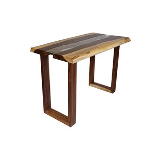 Jean Counter Height Solid Wood Dining Table Union Rustic