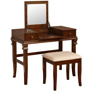 Compare Leister Vanity Set with Mirror ByAlcott Hill