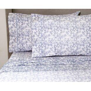 Teitelbaum Wildflower 400 Thread Count 100% Cotton Sheet Set