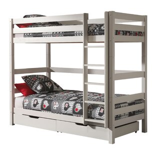 Ethridge European Single Bunk Bed With Drawers By Zoomie Kids