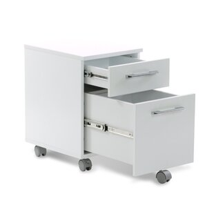 Tarbes 2-Drawer Mobile Vertical Filing Cabinet