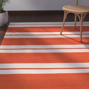 Makrasyka Orange Indoor/Outdoor Area Rug