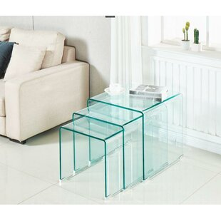 Piontek 3 Piece Nesting Table by Orren Ellis Best