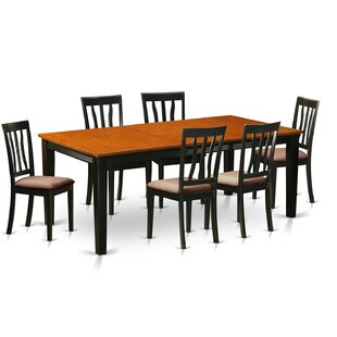 Loraine 7 Piece Extendable Dining Set Red Barrel Studio